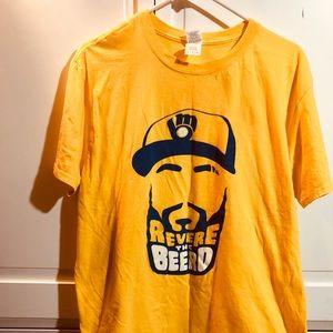 MILWAUKEE BREWERS Eric Thames mens tee shirt